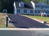 Asphalt driveway with Hardscape border  Richmond