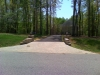 Asphalt driveway with Brick entrance Chesterfield