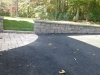 Patio with Retaining Wall Goochland