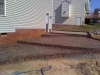 Hardscape brick patio