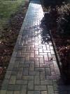Hardscape brick walkway Richmond
