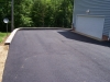 Asphalt Driveway with Hardscape Retaining wall